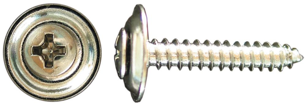 8X3/4 Oval Phil Sems Tapping Screw